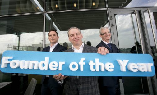Winner of High Potential Start-Up 'Founder of the Year 2017' announced