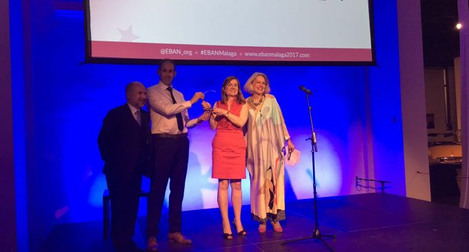 HBAN wins at European Business Angel Awards Annual Awards 2017