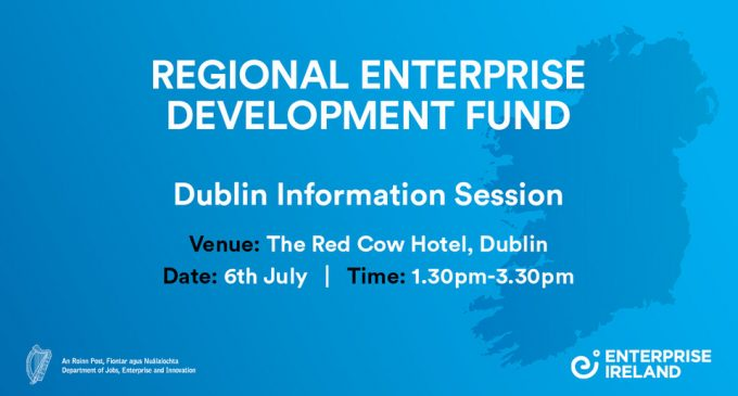 €60m Regional Enterprise Development Fund open for applications