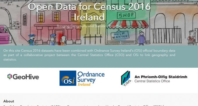 OSi and CSO launch new Census website on Esri Ireland's digital mapping platform