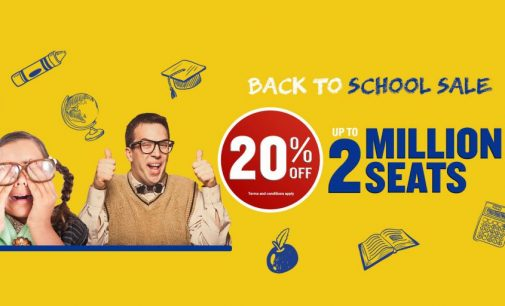 Ryanair back to school seat sale