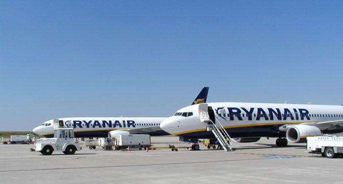 Ryanair publishes list of flights to be cancelled up to end of October