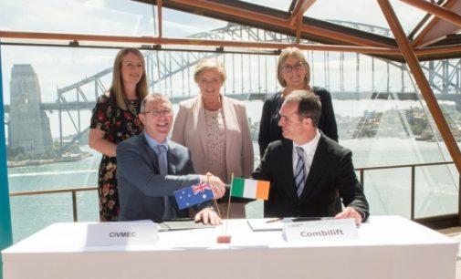Combilift Signs $1 Million Contract in Australia