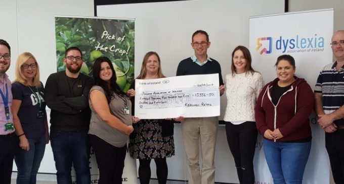 Keelings Raises Over €15,000 For Dyslexia Association of Ireland