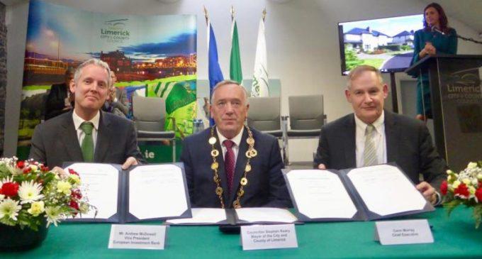 EIB Backs Re-development of Limerick and Confirms New Irish Urban Investment Plans
