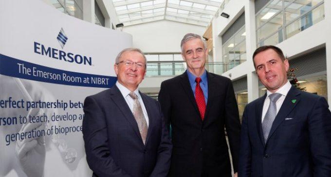 Emerson Collaborates With NIBRT to Help Upskill Ireland's Biopharma Workforce