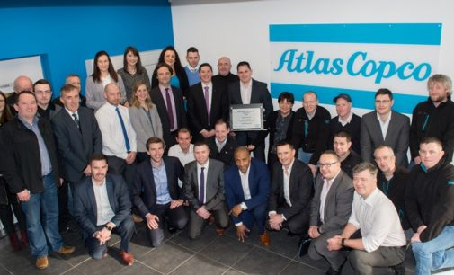 Atlas Copco Ireland Opens New State-of-the-art Headquarters in Dublin
