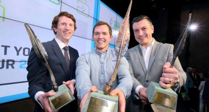 Conor O'Loughlin of Glofox is Ireland's Best Young Entrepreneur For 2018