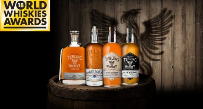 Teeling Whiskey Takes Over at World Whiskies Awards 2018