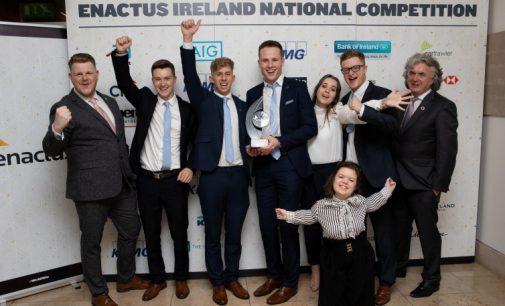 DCU Crowned 2018 Enactus Ireland Champions