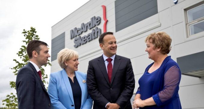 McArdle Skeath Opens €20 Million Dublin Supply Chain facility