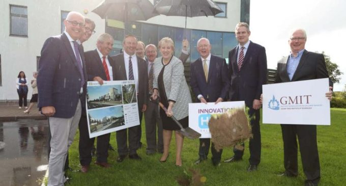 GMIT IHUB Extension Work Commences