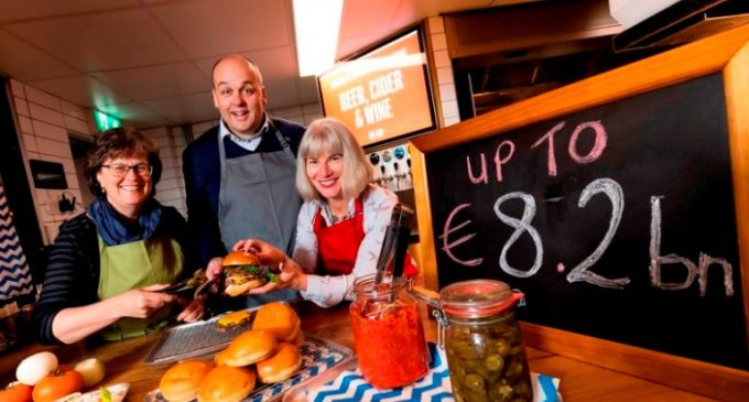 Irish Foodservice Market Set to Grow by 6.1% to Reach Value of €8.2 Billion in 2018