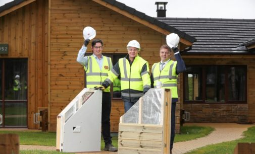 FastHouse Delivers 466 Holiday Lodges at New Center Parcs
