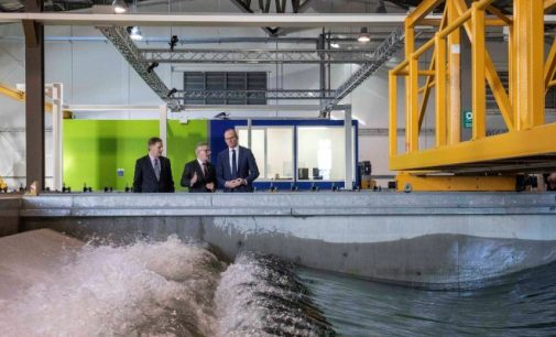Ireland's Ocean Energy Test Facility Opens