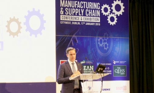 Manufacturing Sector Represents Almost a Third of the Irish Economy