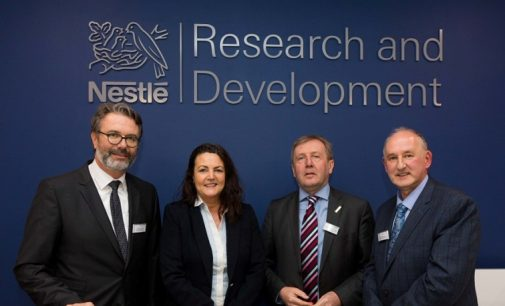 New Global R&D Centre For Nestlé Opens in Ireland