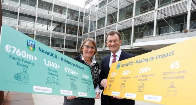€760 Million Raised by NovaUCD Supported Companies Over the Last 15 Years