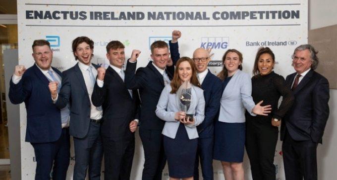 Trinity College Dublin Crowned 2019 Enactus Ireland Champions