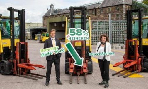 HEINEKEN Ireland Ahead on Sustainability Targets