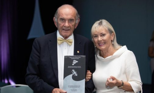 Colm McLoughlin Honoured at Aviation Industry Awards in Ireland