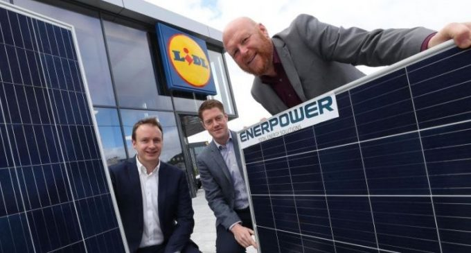 Lidl to Invest €1 Million in Ireland's Largest Ever Installation of Solar Panels