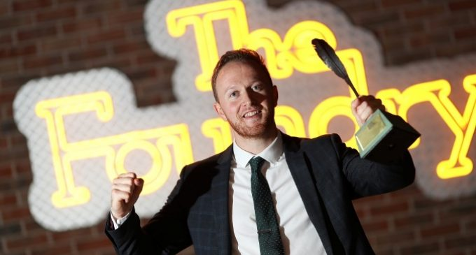Output Sports' CEO Wins Best Business Idea Award at Ireland's Best Young Entrepreneur 2019 National Final