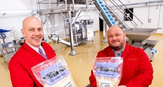 Buchanans New Nut Factory Generates £1 Million GB Success