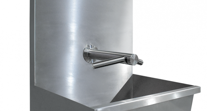 Teknomek hits peak design with new Dyson Airblade wash troughs