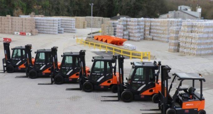 Ibstock Steps-up Forklift Safety With Doosan