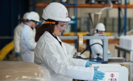 INEOS begins UK production of one million bottles of hand sanitiser per month