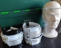 Shannon company manufacturing face shields on a pro bono basis