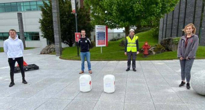 Hovione helping out HSE and community groups with donations of hand sanitiser