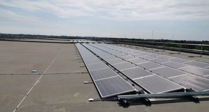 Caldor Solar installs a Solar PV system to assist a pharmaceutical plant in Limerick meet its green goals.