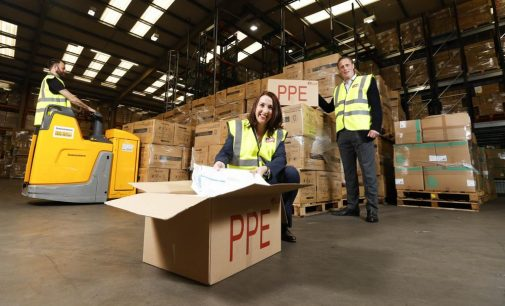 Kingspan donates €1m shipment of PPE to HSE
