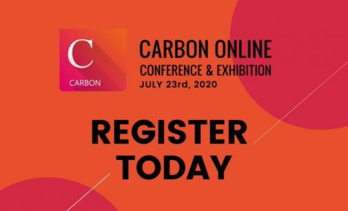 Join the Carbon Online Conference & Exhibition – July 23rd 2020