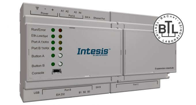 New Intesis gateway makes communication between PROFINET and BACnet easy