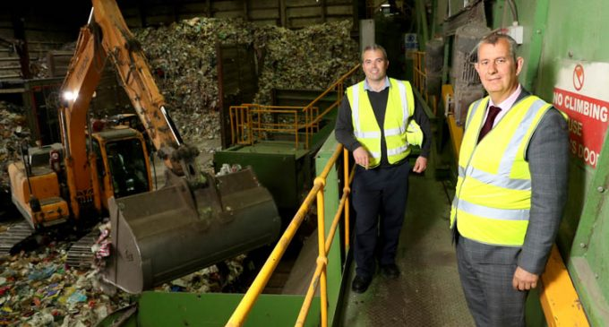 Minister visits Re-Gen Waste Recycling Facility in Newry