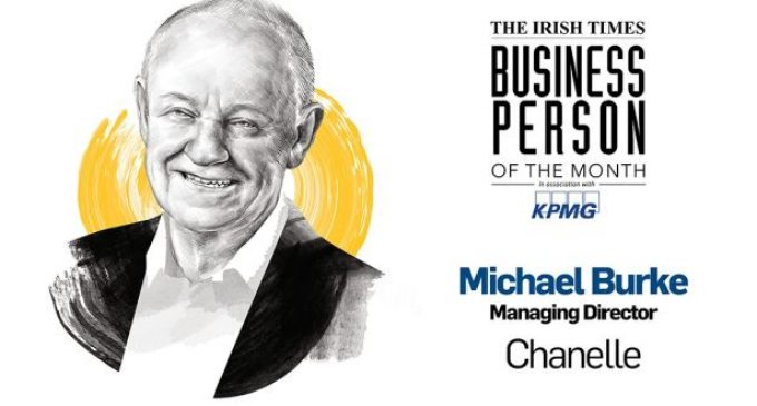 The Irish Times Business Person of the Month: Michael Burke