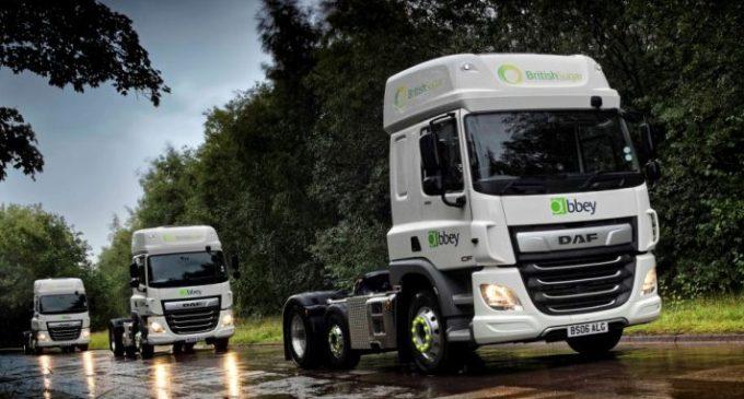 Abbey Logistics adds 11 latest generation vehicles to British Sugar Fleet