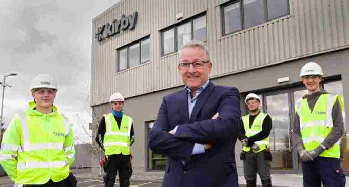 Kirby Group Engineering doubles apprentice intake