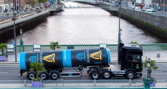 Diageo Recalls Guinness 0.0 in Great Britain