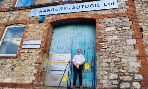 Hanbury Autogil builds fastest PPE machine during covid-19 fight