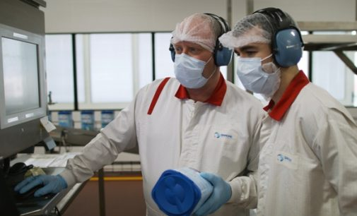 Danone Wexford produces Europe's first formula milk in an innovative, pre-measured tab format