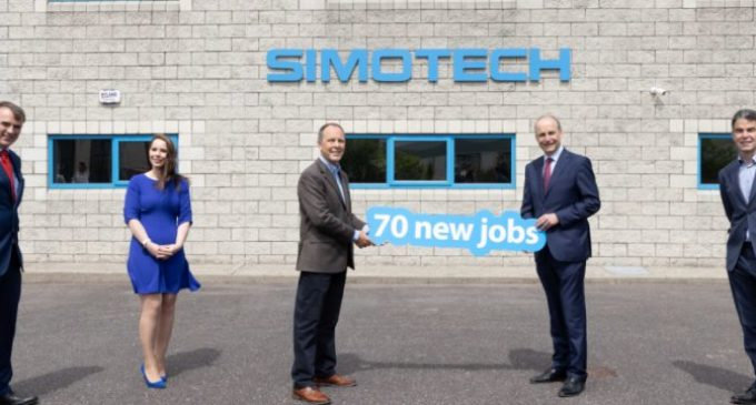 70 jobs announced at Irish process automation firm