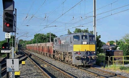 Iarnród Éireann and XPO Logistics begin new rail freight service between Port of Waterford and Ballina