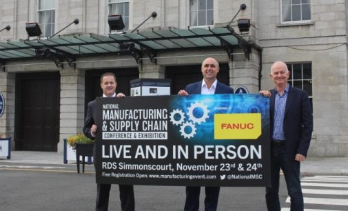 National Manufacturing & Supply Chain Conference & Exhibition 2021 – 23rd & 24th November – RDS Simmonscourt , Dublin